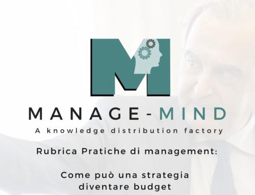 Pratiche di management: Come può una strategia diventare budget